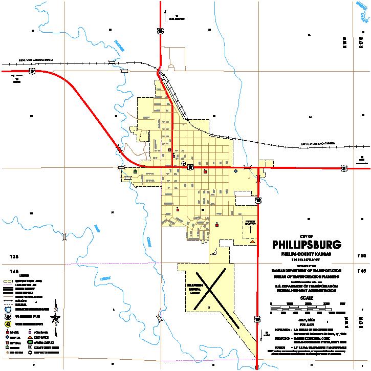 Maps Phillipsburg KS Official Website - Ks map