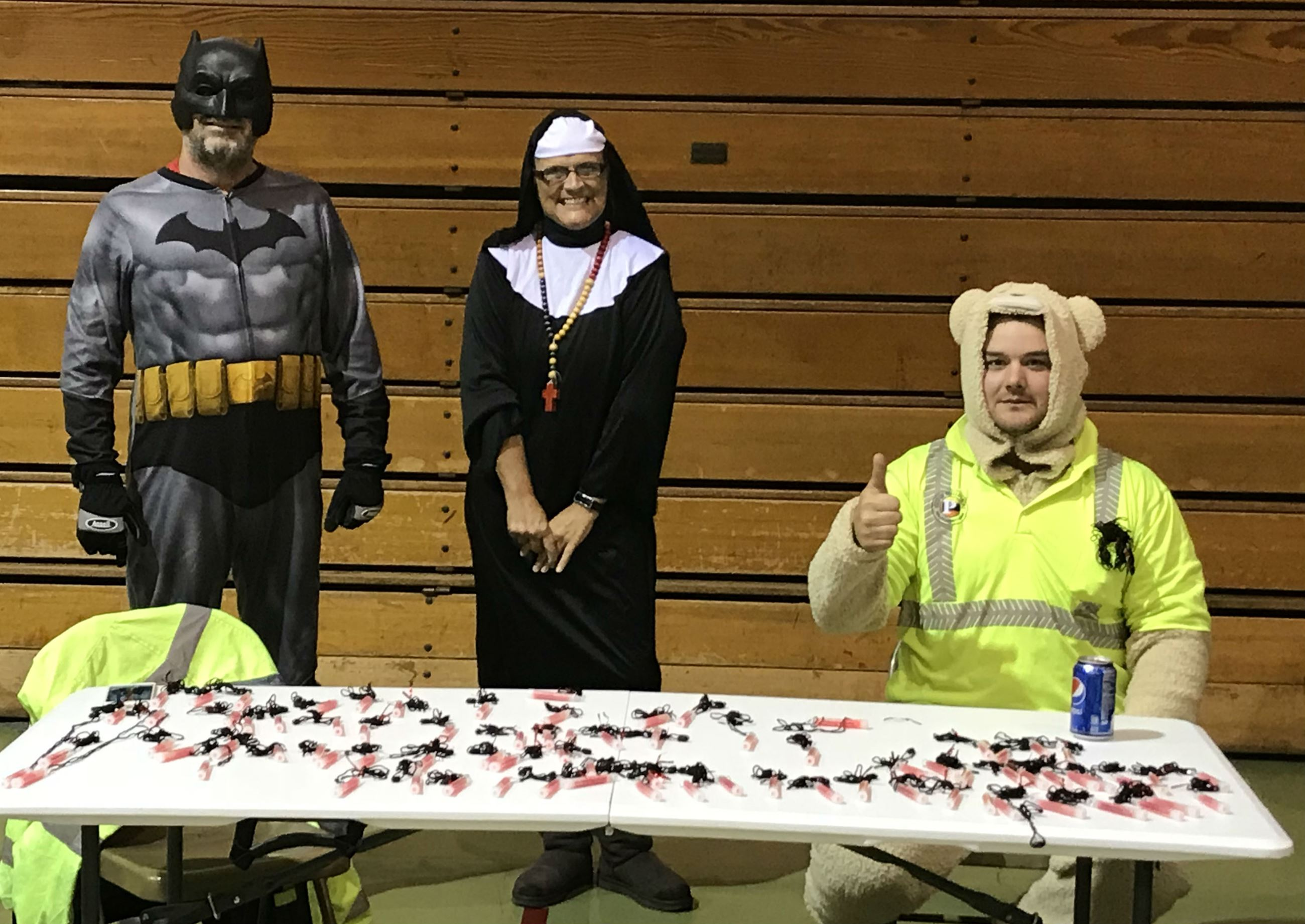 Batman, the Nun, & the Bear