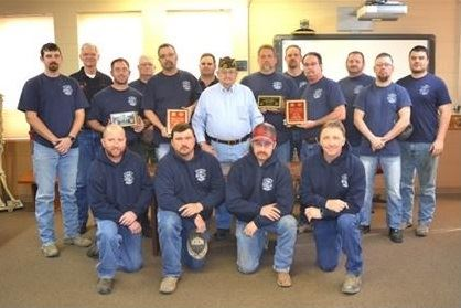 City of Phillipsburg & Phillips County Rural Fire District #1 Firemen with VFW Post #8873 Chairman J