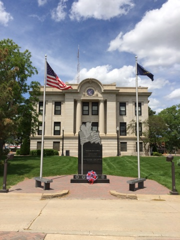 Phillips County Courthouse Veterans Memorial