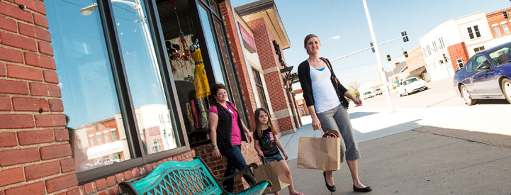Shopping photo by Michael C. Snell